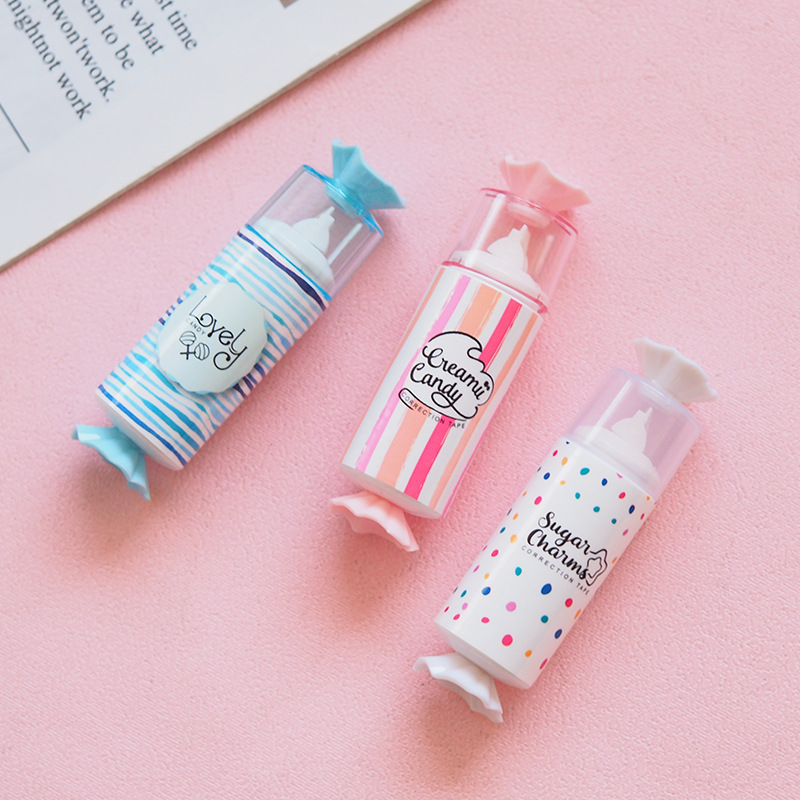 5 Meters Long Cute Candy Design Mini Correction Tape School Office Supply Student Stationery Kids Gift