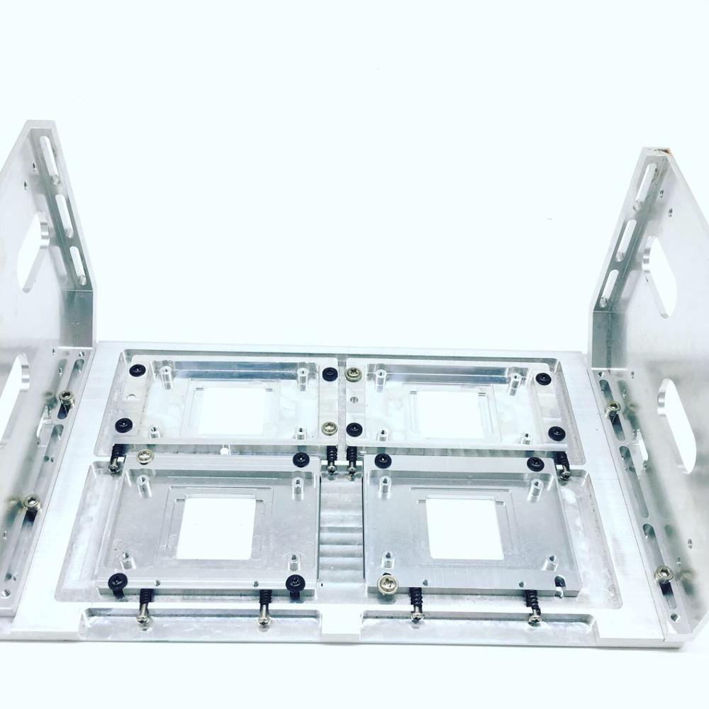 eco solvent capping station assembly for xp600 dx10 head four head - 4