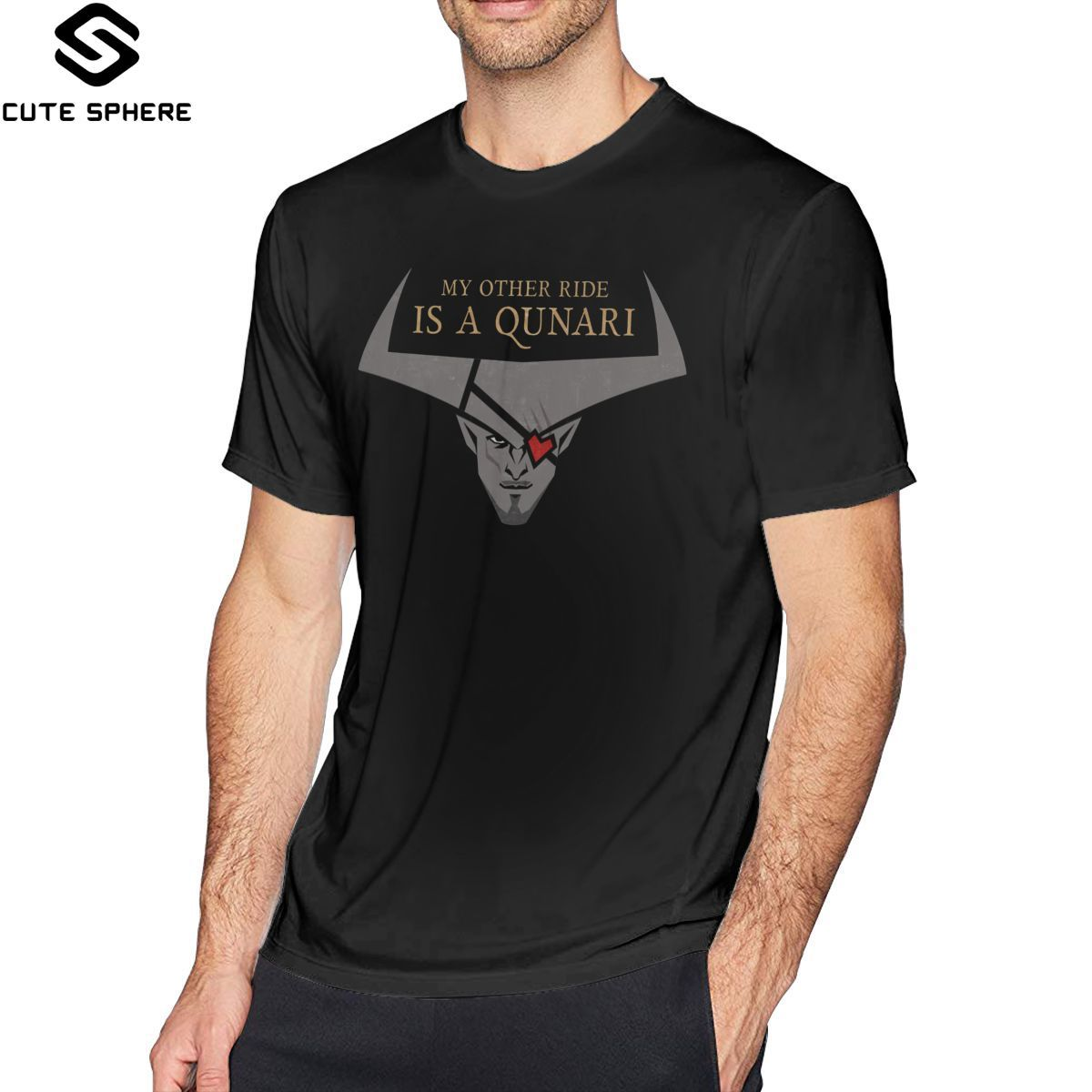 Dragon Age Inquisition T Shirt My Other Ride T-Shirt Short-Sleeve 100 Percent Cotton Tee Shirt <font><b>Funny</b></font> <font><b>Tshirt</b></font> image