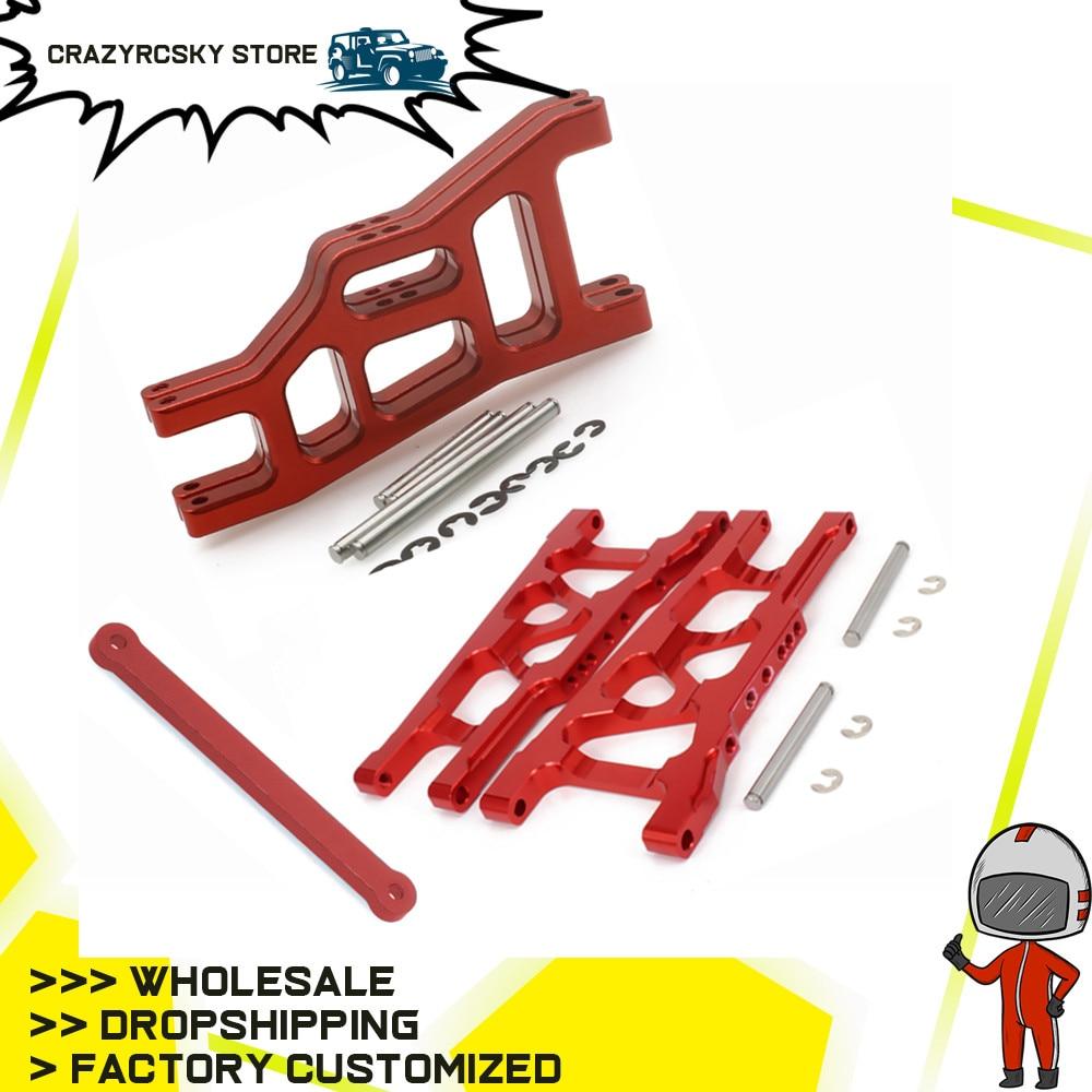 Front/Rear Suspension Arm Tie Bar 3655 3631 For RC Hobby Car 1/10 Traxxas Slash VXL 2WD Monster Truck Rustler VXL Upgrade part