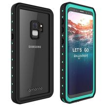 Full Protective Phone Case for Samsung Galaxy S9 Armor Shockproof Cover IP68 Waterproof Fitted Protect Shell Funda