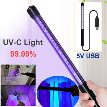 Portable UV-C Light UV Lamp Ultraviolet Handheld USB for Home Room Office Travel GQ - discount item  37% OFF Lighting Bulbs & Tubes