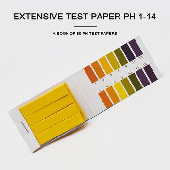Water Acidity Alkalinity Test Strip Litmus Paper Range 1-14 Liquid PH Test Paper Tester Paper Water Soilsting Kit image