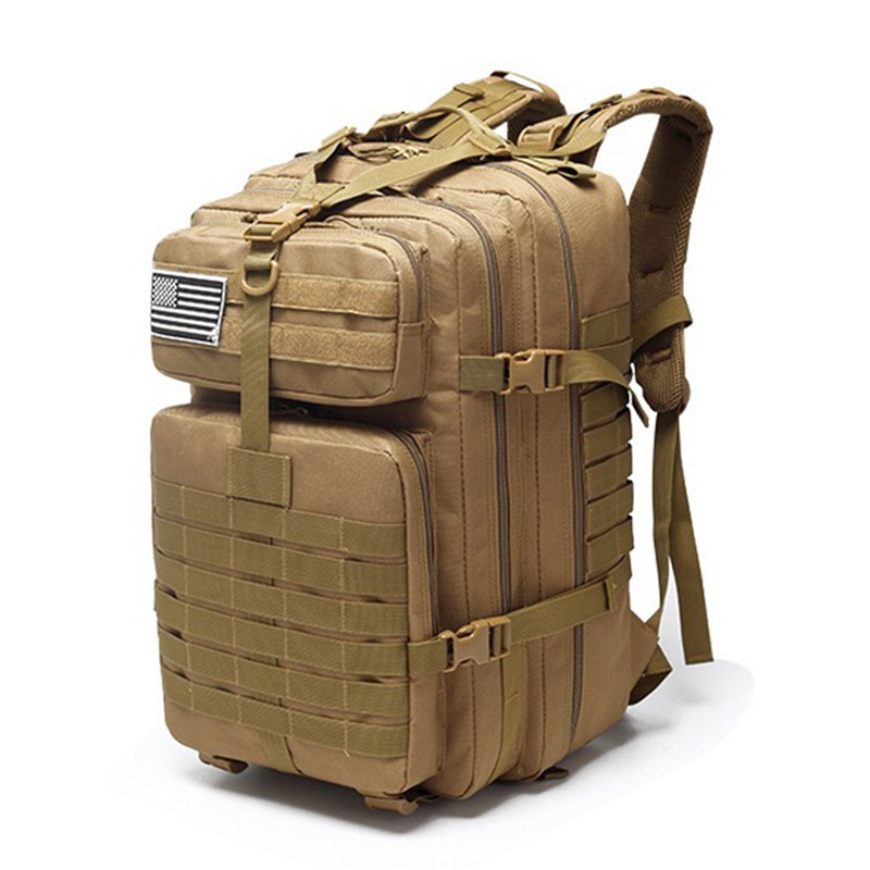 40L Tactical Assault Pack Backpack Molle Waterproof Bug Out Bag Small Rucksack For Outdoor Hiking Camping Hunting Sac A Dos