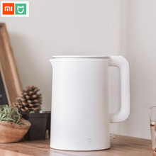 Original Xiaomi Mijia Electric Kettle Tea Pot 1.5L Auto Power-off Protection Water Boiler Teapot Instant Heating Stainless Steel 1 5l water kettle handheld electric water kettle instant heating auto power off protection wired kettle