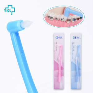 Image 2 - Y Kelin Single Beamแปรงสีฟันจัดฟันฟันหญิงขนาดเล็กพิเศษหัวนุ่มHair Implantผู้ใหญ่แปรงสีฟันวงเล็บ