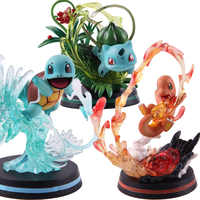 GK Royal Three MFC Jenny Turtle Wonderful Frog Seed Hand-made Small Fire Dragon PVC Action Figure Collectible Model Toy