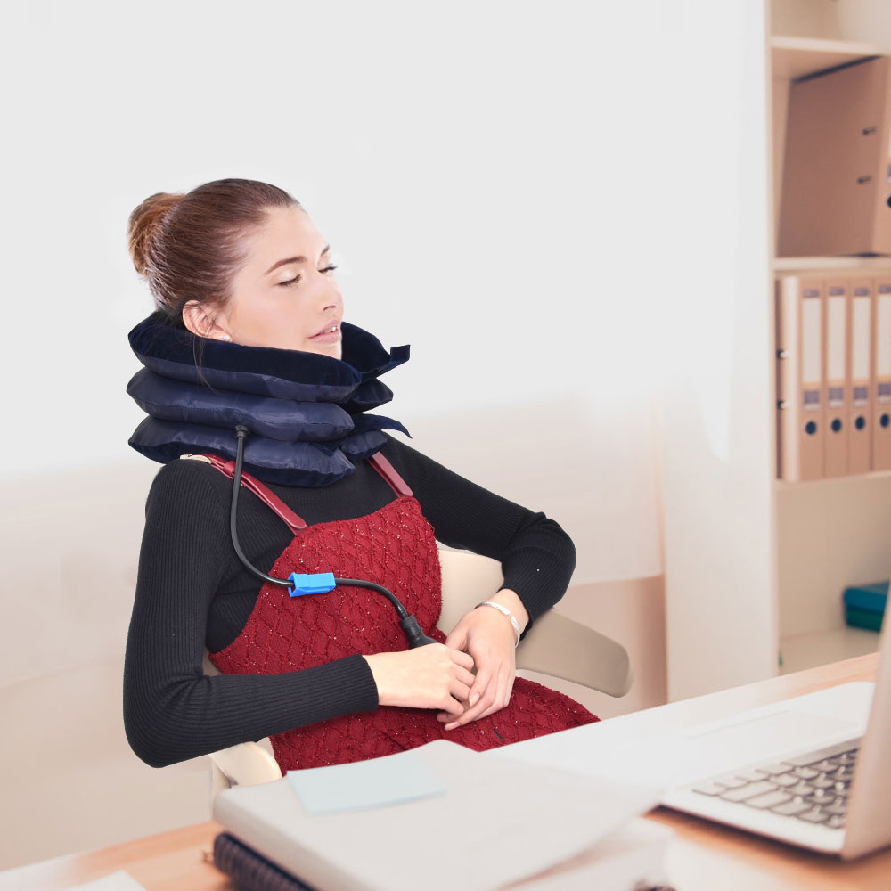 3 Layer Inflatable Air Cervical Neck Support