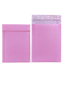 Envelope Mailing-Bag Light Bubble-Mailer Poly Pink Self-Seal 10PCS 17-Sizes