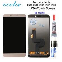 Ocolor עבור Letv LeEco Le 1S LCD X500 X501 X502 X507 X509 תצוגה + מגע פנל מסך החלפת Digitizer עצרת + כלים + דבק