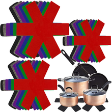 Разделительная перегородка-колодки-протектор кухонная Подставка для столовых приборов антипригарное покрытие с защитой от проколов тепло...