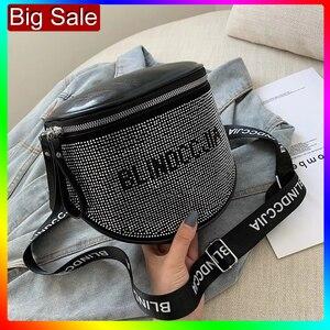 Image 1 - Bandolera pequeña de cuero de moda para mujer, bolso de hombro grande, ייי