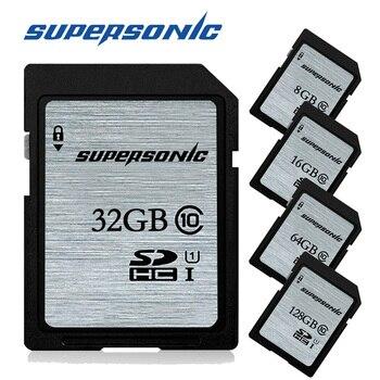 Supersonic High speed Class10 cartao de memoria SD card 128GB 64GB 32GB 16GB 8GB Memory Card sd pendrive R95mb/s U1 for camera