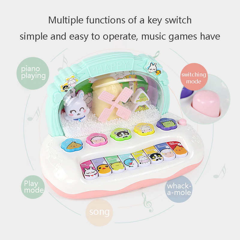 Multifunctional Children's Musical Instrument Toys Baby Piano Development Music Early Education Toy Gift Christmas Gift