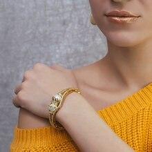 Красивый жемчужный браслет диаметром 56 см красивая золотая