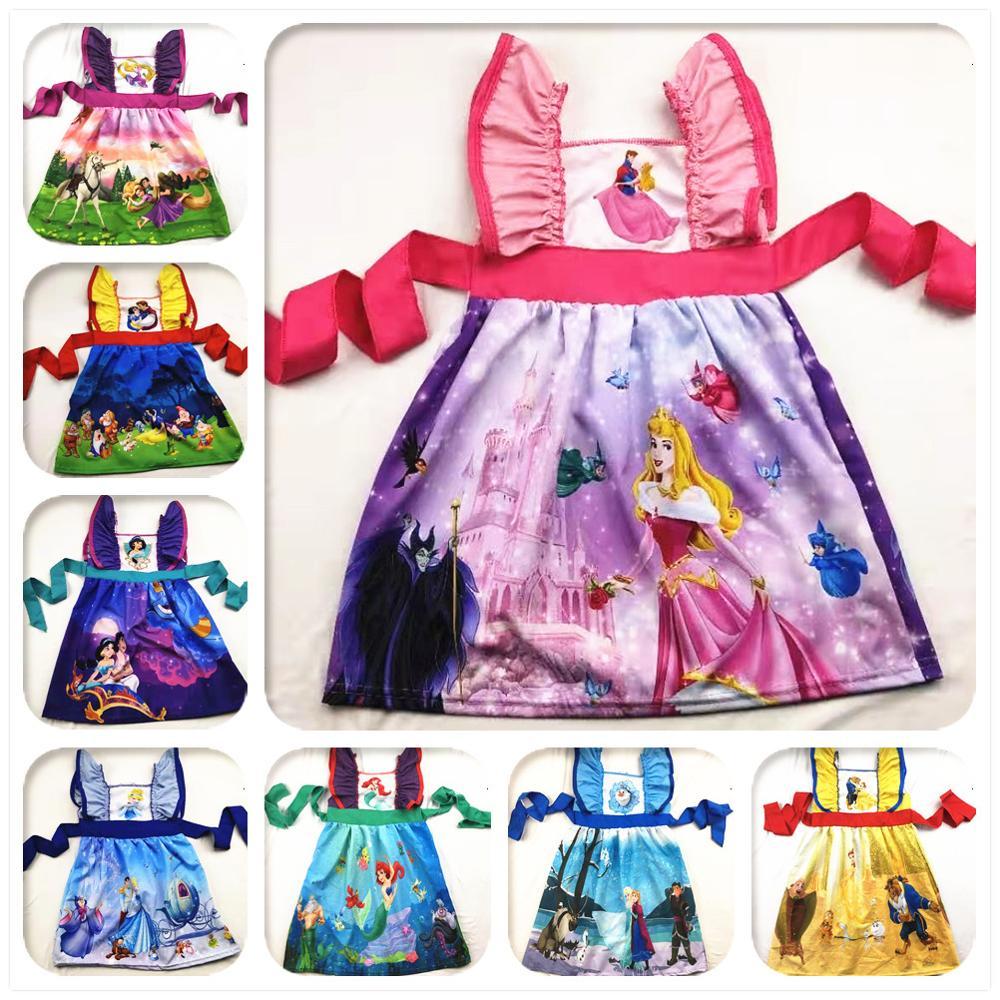 Платье принцессы из плетеного материала с рисунком для девочек 12 лет очаровательные детские праздничные платья для девочек