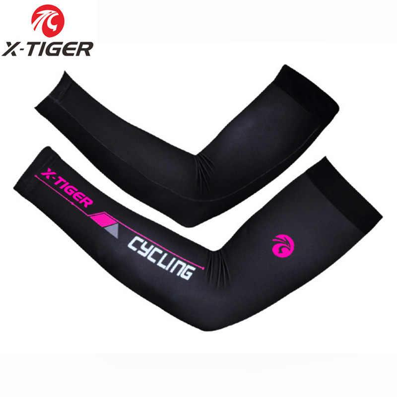 X-Tijger Anti-Uv Fietsen Armwarmer Zomer Ademende Mountainbike Arm warmer Sneldrogende Racing MTB Fiets Armwarmer Man vrouwen