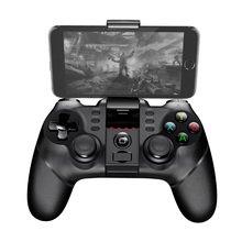 iPega PG-9077 Bluetooth Gamepad USB joystick with Bracket 2.4G Wireless Receiver Game Controller for Android PC PS3 цена 2017