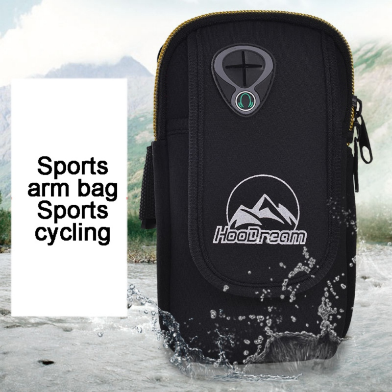 High Quality Running Mobile Phone Arm Bag Waterproof Outdoor Sports Equipment Fitness Accessory