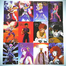 90pcs/set 2 Styles Saint Seiya Broken Glass Childhood Memories Toys Hob