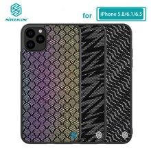 Für iPhone 11 Fall 5,8 NILLKIN Twinkle Reflektierende Fall Harte PC Zurück Abdeckung für iPhone 11 Pro Max Fall 6,1/6,5 zoll
