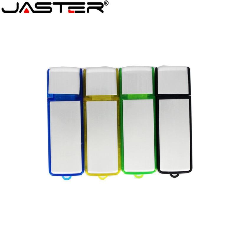 JASTER 4 Colors Business USB 64GB USB Stick Flash Drive Pendrive  4GB  16GB 32GB 128GB Gift (10pcs Free LOGO) Custom Made