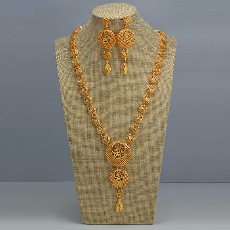 Gift For Her Long Gold Necklace Chain