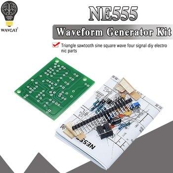 DC6-12V NE555 Pulse Generator Module Sine/Triangle/Square Wave generator multi-channel Waveform Signal DIY Kit - sale item Active Components