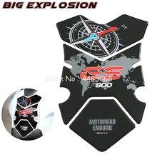 Motorrad aufkleber 3D aufkleber Motorrad Kraftstoff Gas Tank Pad Schutz Fall für BMW F800GS F800 GS 2008 2012 Polyurethan harz