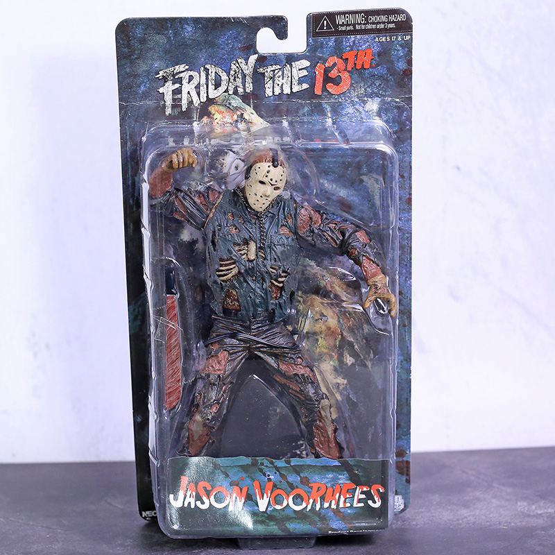 "NECA Friday the 13th Jason Voorhees / Halloween Michael Myers 7"" Scale Action Figure Toy
