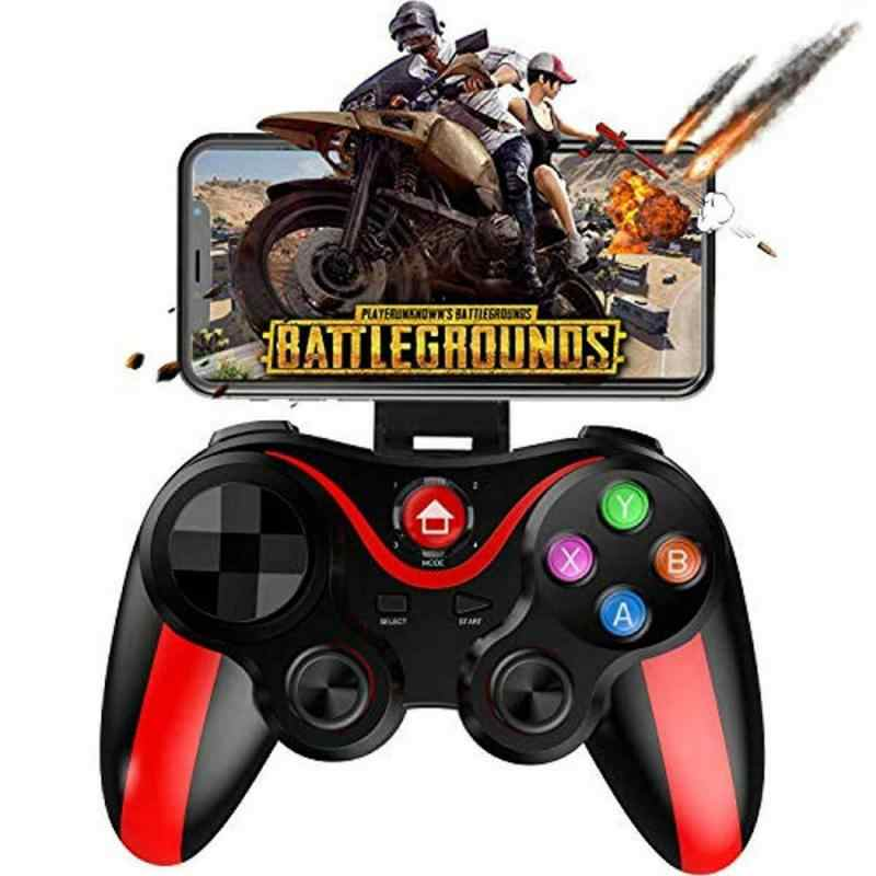 Pubg Controller Bluetooth Wireless Joystick Gamepad Controller di Gioco Joystick Bluetooth Per Il Telefono Mobile di IPhone Tablet Box Holder