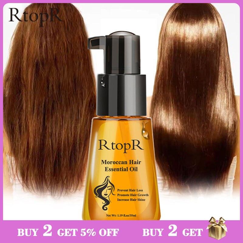 Aceite esencial para el crecimiento del cabello, producto marroquí para prevenir la pérdida de cabello, fácil de llevar cuidado del cabello, cuidado del cabello, cuidado del cabello de 35ml, tanto para hombres como para mujeres Tratamientos de cuero cabelludo y cabello    - AliExpress
