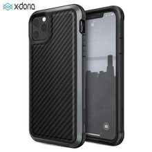 X Doria Verteidigung Lux Telefon Fall Für iPhone 11 Pro Max Military Grade Tropfen Geprüft Fall Abdeckung Für iPhone11 pro Aluminium Abdeckung Coque