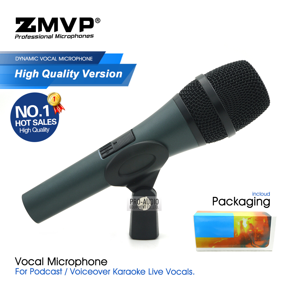 High Quality Version E845 Wired Microphone Professional Super-cardioid Dynamic E845S Handheld Mic For Karaoke Live Vocals Stage