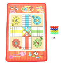Party Games Kids Classic Flight Chess Game Family Party Children Fun Board Game Toys Educational Toys For Children Fun Gifts juior blokus classic kids board game baby desktop funny strategy game family parent child interactive educational fun toys