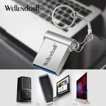 Super Mini USB-Stick 128GB 64GB 32GB 8 GB Metall Stift Stick Stick 128 64 32 16 8 GB Flash Speicher Cle USB Stick