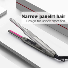 Professional Flat Iron for Short Hair 2 in 1 LED Hair