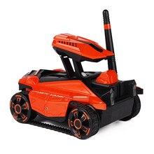 Подарки робот 0.3MP камера детский смартфон управление led автомобиль RC игрушка танк пульт дистанционного управления полное направление вождения wifi FPV высокая скорость