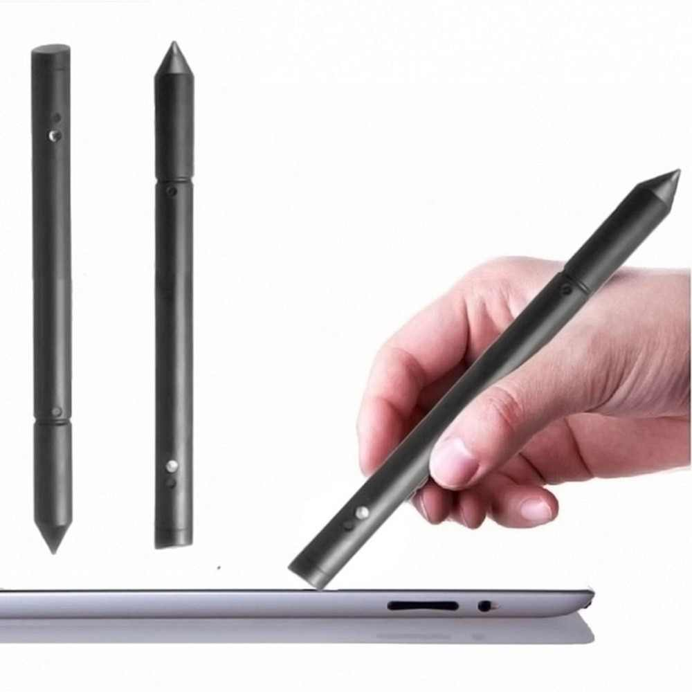 2-in-1 Multifunctionele Touch Screen Pen Universele Stylus Pen Weerstand Touch Capacitieve Pen voor Smart Telefoon Tablet PC