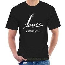 Sonor – t-shirt à manches courtes avec Logo Vintage, taille S M L XL 2XL 3XL, confortable, bon marché, vente en gros @ 074148