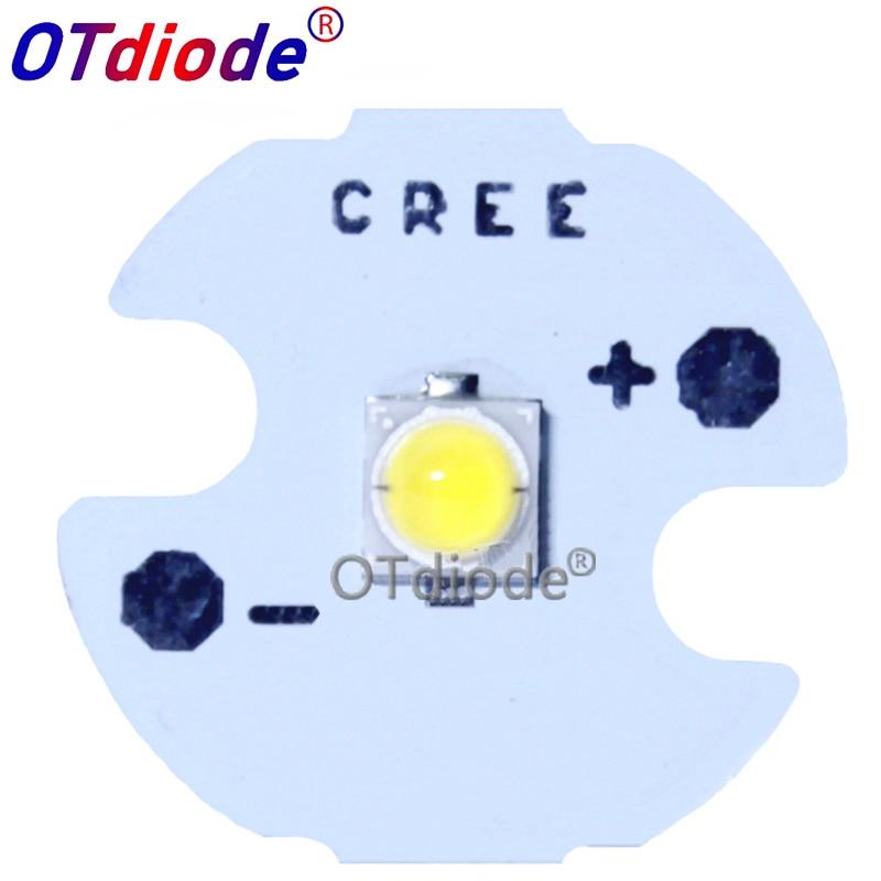 Светодиодный диодный чип-светильник TSMC 3535 3535 SMD высокой мощности, 100 шт., 3 Вт, излучатель, нейтральный белый, теплый белый, вместо CREE XPE, светод...