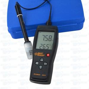 Sensor inteligente profissional, medidor de ph do solo 0.00 ~ 14.00ph, digital de alta precisão, testador de umidade