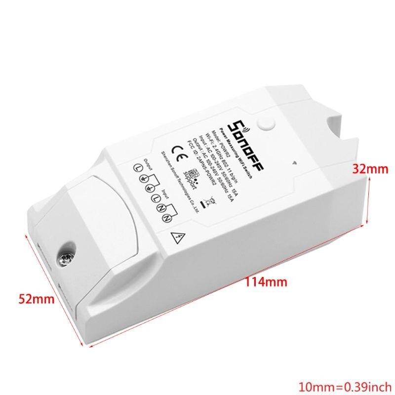 Однофазный din рейку wifi умный измеритель энергии Потребляемая мощность кВтч метр ваттметр 220 В, AC 50 Гц/60 Гц - 2