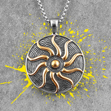 Apollo Talisman Sun God Stainless Steel Men Necklaces Pendants Chain Punk for Boyfriend Male Jewelry Creativity Gift Wholesale