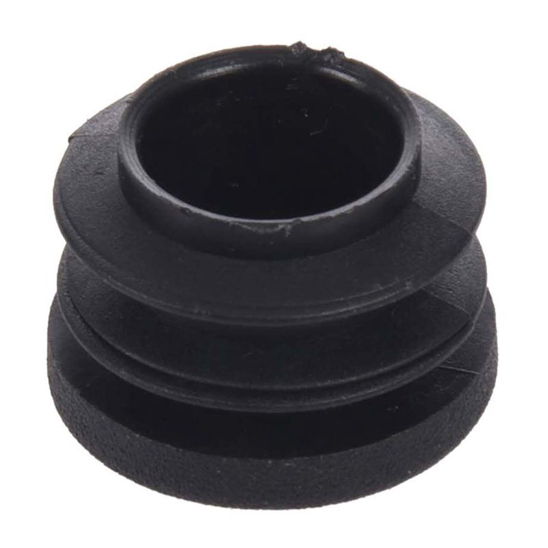 15pcs Black 19mm Dia Round Plastic Blanking End Cap Tubing Tube Insert