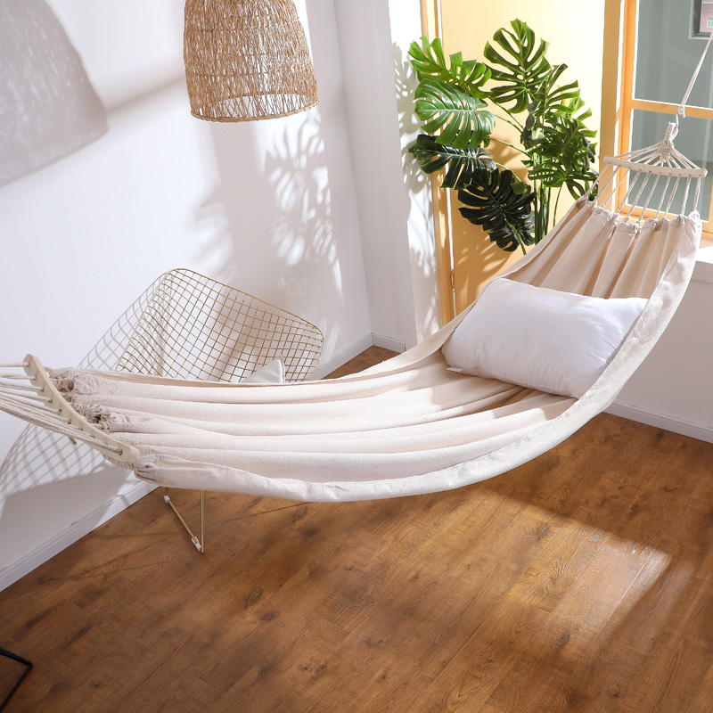 Indoor Household Anti-rollover Single Double-person College Student Dormitory In Hammock Outdoor Swing Room