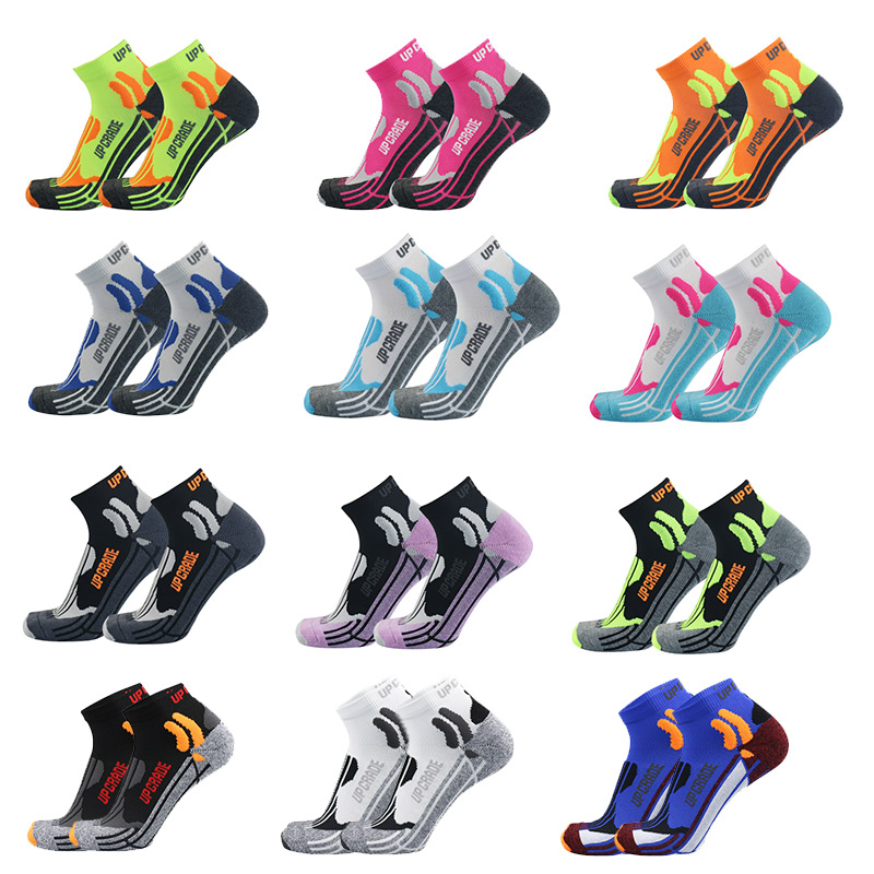 Mix Colorful Coolmax Running Cotton Compression Socks Outdoor Cycling Breathable Basketball Ski Socks Thermal Socks