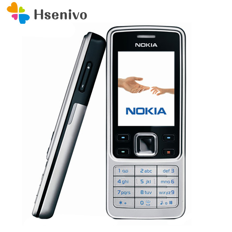 Hot Sale~Nokia 6300 100% Original Unlocked Mobile Phone Unlocked 6300 FM MP3 Bluetooth Cellphone One Year Warranty Free Shipping