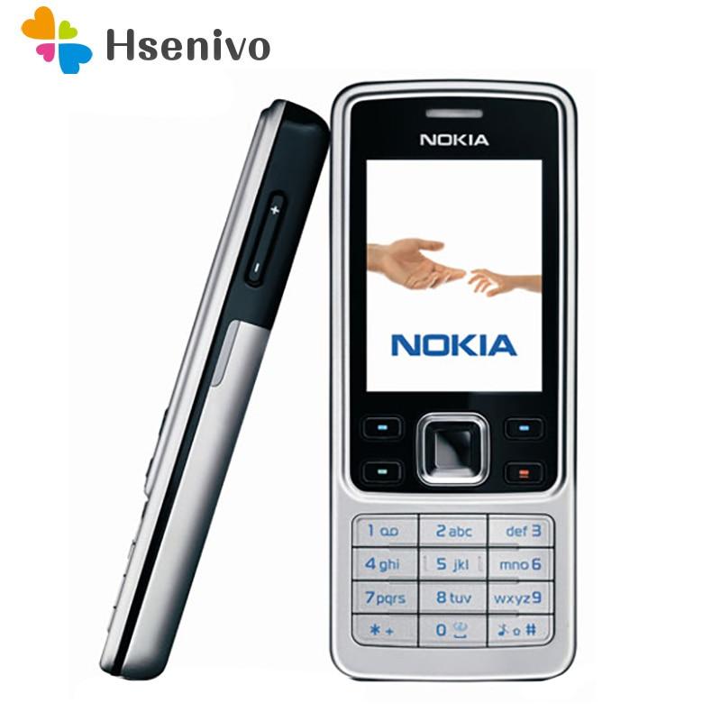 Hot sale~Nokia 6300 100% Original Unlocked Mobile Phone Unlocked 6300 FM MP3 Bluetooth Cellphone One Year Warranty Free shipping