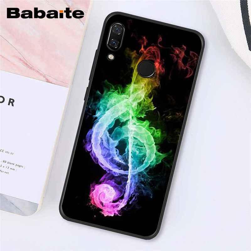 Babaite Notes de Musique Violon Musique Classique étui de téléphone pour xiaomi Redmi8 4X 6A S2 Aller Redmi 5 5Plus Note4 5 7 Note8Pro
